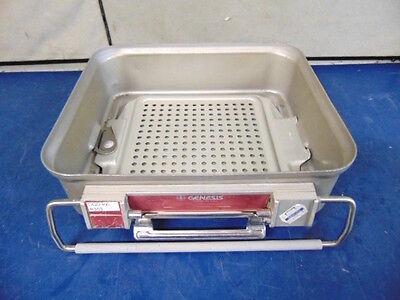 Genesis Sterilization Tray Good Condition 10 X 12 X 8 R353x