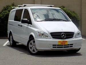 2013 Mercedes-Benz Vito 639 MY13 122CDI Crew Cab White 5 Speed Automatic Van Blair Athol Port Adelaide Area Preview