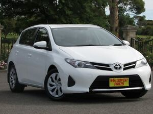 2014 Toyota Corolla ZRE182R Ascent S-CVT White 7 Speed Constant Variable Hatchback Blair Athol Port Adelaide Area Preview