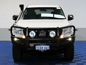 2013 Toyota Landcruiser Prado KDJ150R MY14 GX (4x4) White 5 Speed Sequential Auto Wagon East Rockingham Rockingham Area Preview