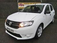 Dacia Sandero 1.2 Ambiance 5dr 16V (white) 2015