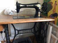 Stunning old Singer sewing machine