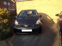 Toyota Aygo 1.0, petrol, manual, 5-door, 1 lady owner, grey, low running costs, vgc, looked after...