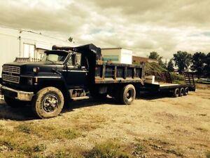 Ford f700 dump truck London Ontario image 2