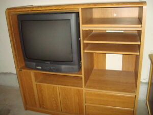 TV and wall unit