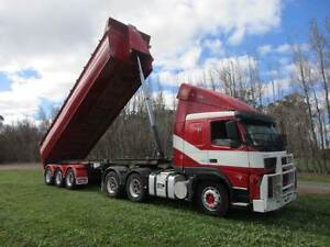 VOLVO FM12 AND GRAIN TIPPER COMBO  GRAIN EXT  INCLUDED Pickering Brook Kalamunda Area Preview