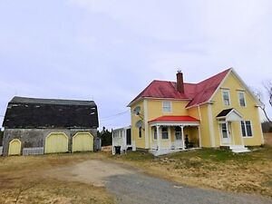 Historic Country Home or Cottage  (New Ross Area) w/ income pote