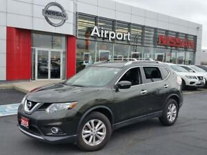 2015 Nissan Rogue SV ALOY WHEELS, SUNROOF, PUSHB