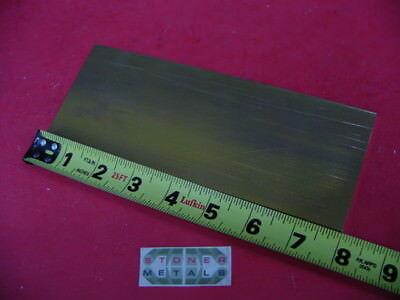 18 X 3 C360 Brass Flat Bar 8 Long Solid .125 Plate Mill Stock H02