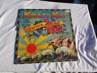 Vinyl LP China Seas – Krazy Kat Mountain TOPC 5004 Stereo 1976