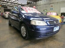 2001 Holden Astra TS City Blue 4 Speed Automatic Hatchback Mordialloc Kingston Area Preview