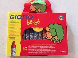 Giotto Be-Be Crayons (Pack of 10) Fitzroy North Yarra Area Preview