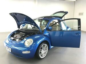 2001 Volkswagen Beetle 9C 2.0 Blue 5 Speed Manual Hatchback Frankston Frankston Area Preview