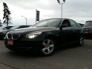 2008 BMW 5 Series 528xi/NAV/SUNROOF/LEATHER