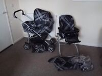 Mamas and Papas Pram Pushchair with accessories BARGAIN