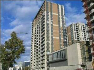 Downtown condo, 1bed, parking, 20th floor. gorgeous view. pool