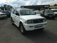 1998 Mitsubishi Challenger PA (4x4) White 5 Speed Manual Wagon Greenslopes Brisbane South West Preview