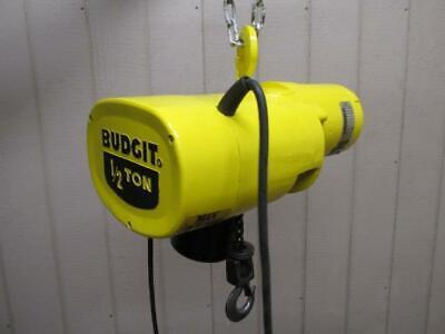 Budgit 113452-5 Electric Chain Hoist 12 Ton 1000 Lbs 3 Ph 10 Ft. Lift 16 Fpm