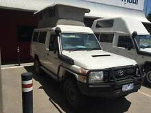 KBCAMPERS 2011 TOYOTA CRUISER POP TOP  DIESEL 4X4 Wangara Wanneroo Area Preview