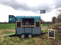 Mobile Catering converted 1970s Rice Horse Box