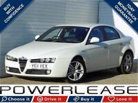 2011 11 ALFA ROMEO 159 2.0 JTDM 16V LUSSO 4D 170 BHP DIESEL