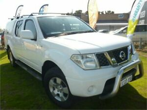 2010 Nissan Navara D40 ST (4x4) White 5 Speed Automatic Dual Cab Pick-up Wangara Wanneroo Area Preview