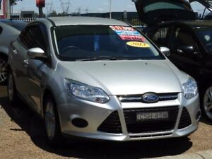2013 Ford Focus LW MkII Ambiente PwrShift Silver 6 Speed Sports Automatic Dual Clutch Sedan Mount Druitt Blacktown Area Preview