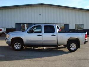 2010 GMC SIERRA SLE 2500HD SHORTBOX 4X4 6.0L 277K ONLY $11,025.