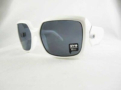 NIB BRAND NEW SPY OPTIC Eliza White Grey Gray Sunglasses ELWH00 on Rummage