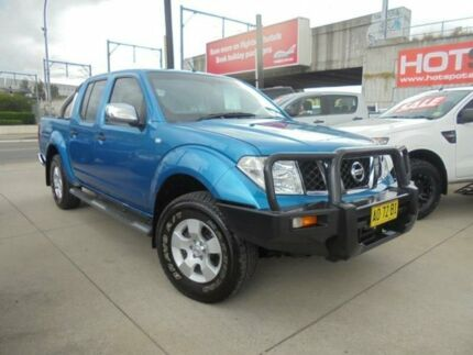 2007 Nissan Navara D40 ST-X Blue 6 Speed Manual 4D Utility