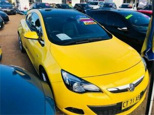 2015 Holden Astra PJ MY16 GTC Sport Yellow Automatic Hatchback Minchinbury Blacktown Area Preview