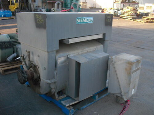 600 HP Siemens Electric Motor, 1800 RPM, 509S Frame, WPII, 460 V, 1.15 SF