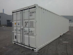 40' High-Cube NEW One-Trip Shipping/Storage SEACANS for SALE!