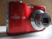 Red Fujifilm 12MP Digital Camera