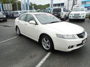 2004 Honda Accord Euro CL Luxury White 5 Speed Automatic Sedan Alexandra Headland Maroochydore Area Preview
