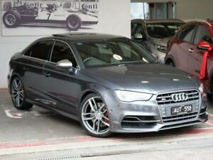 2014 Audi S3 8V MY14 S Tronic Quattro Grey 6 Speed Sports Automatic Dual Clutch Sedan Doncaster Manningham Area Preview