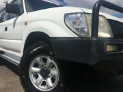 2002 Toyota Landcruiser Prado VZJ95R RV6 White 5 Speed Manual Wagon Svensson Heights Bundaberg City Preview