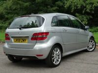 MERCEDES-BENZ B CLASS 1.5 B150 BLUEEFFICIENCY SPORT 5d 95 BHP (silver) 2009