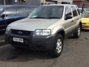 2004 Ford Escape ZB XLS Gold 4 Speed Automatic Wagon Granville Parramatta Area Preview