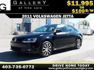 2011 Volkswagen Jetta 2.5L $109 bi-weekly APPLY NOW DRIVE NOW