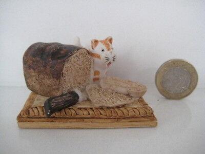 RARE ORIGINAL COLOUR BOX CAT PETER FAGAN HOME SWEET HOME HS801 BREADBOARD LOAF