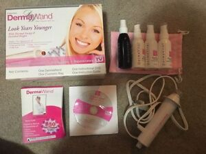 Brand new DermaWand kit! Removes wrinkles and tones skin.