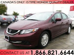 2015 Honda Civic Sedan LX | 1 OWNER | NO ACCIDENTS