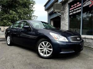 2009 INFINITI G37 Sedan Luxury Awd Cuir