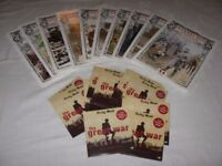 SET OF 18 x WW1 DVDs