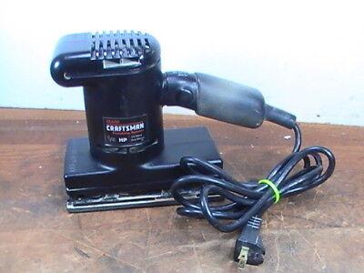 Pre-owned Tested Craftsman  #315-116121 1/5-Hp 1/3 Sheet Dual Motion Sander K