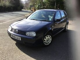 VOLKSWAGEN GOLF 1.9 E SDI 5DR Manual (blue) 2000