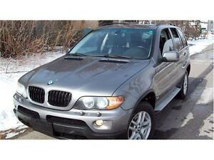 2005 BMW X53.0i,,MINT,LEATHER,PANORAMIC SUNROOF,CERTIFIED$6975