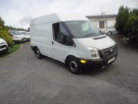 2013 Ford Transit. PSV to 14/03/18. Insulated inside Heated seats. AIR CONDITIONING