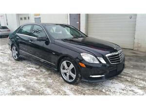2012 Mercedes E350 4matic,Navi,Warranty,Custom interior,MINT!